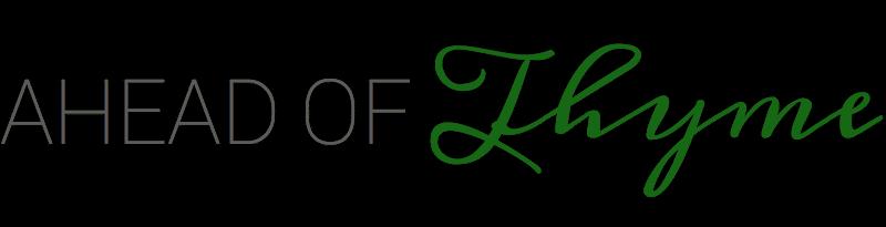 Ahead of Thyme logo
