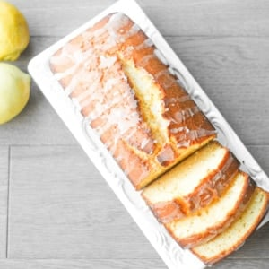 Lemon Loaf with Lemon Glaze: Inspired by the lemon loaf from Starbucks, this loaf emanates the perfect balance between sweet and tangy. It is the perfect complement to a hot cup of tea | aheadofthyme.com