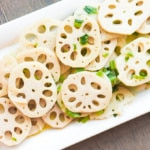Stir-fried Lotus Root with Green Onions