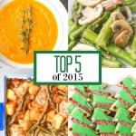Top 5 Recipes of 2015
