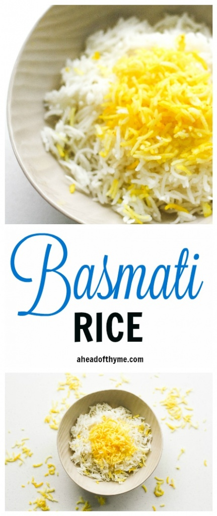 Basmati Rice with Saffron: Basmati rice is an essential side in Middle ...