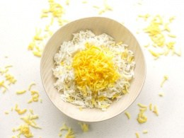 Basmati Rice With Saffron Ahead Of Thyme