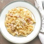 Creamy Pasta with Turkey Bacon
