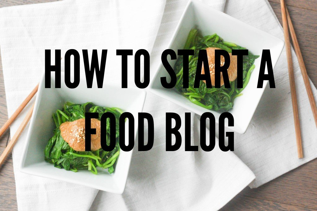 How to Start a Food Blog: Follow these basic steps and start a food blog today! | aheadofthyme.com