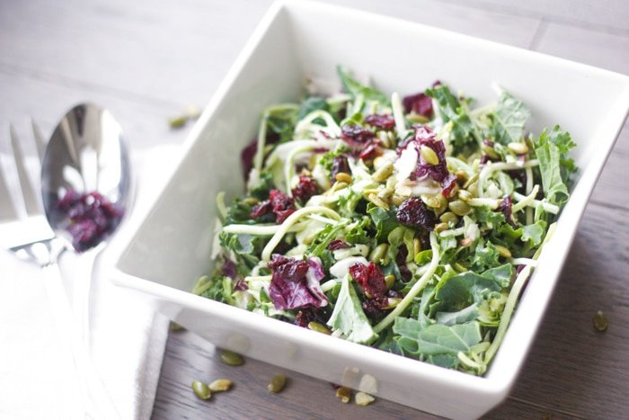 Kale Salad with Poppy Seed Dressing: Get your kale fix with this ...