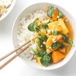 Thai Yam and Sweet Potato Yellow Curry