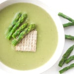 Creamless Cream of Asparagus Soup