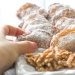 Ghotab / Qottab Pastry (Traditional Iranian Almond and Walnut-Filled Crescents)