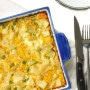 Egg and Potato Breakfast Casserole: Whether you are feeding your own family or entertaining a large number of guests, this vegetarian egg and potato breakfast casserole is a huge hit at brunch | aheadofthyme.com
