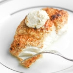 Almond-Crusted Halibut with Lemon Garlic Butter