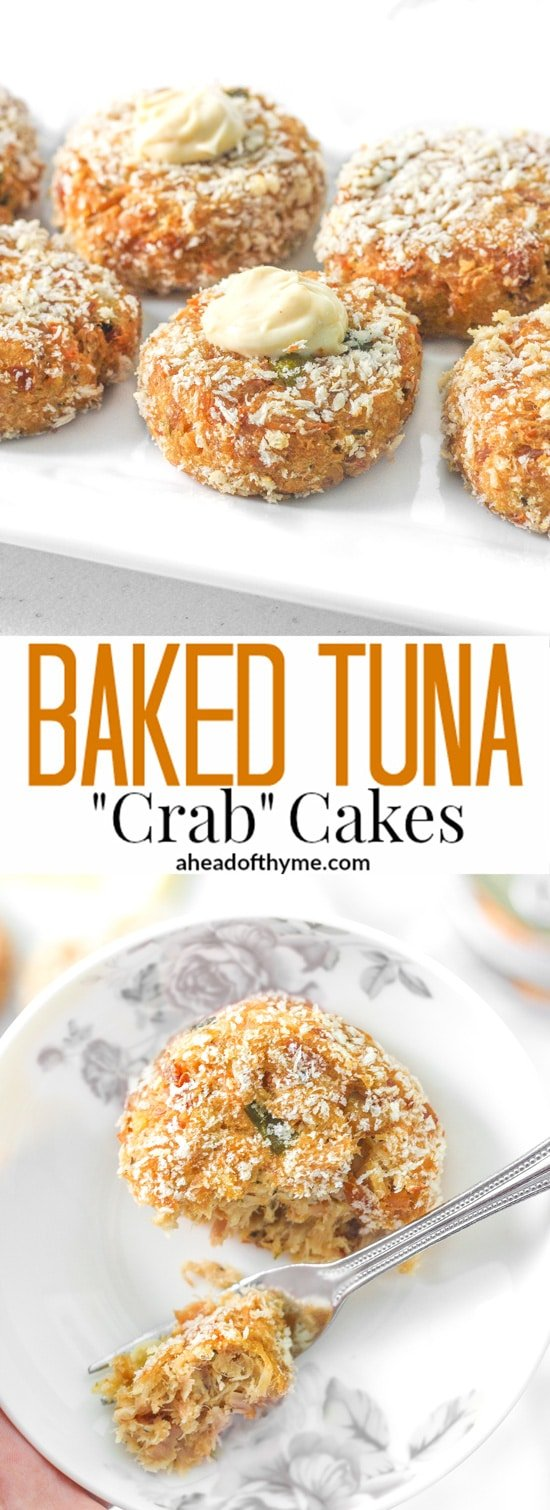 Baked Tuna Crab Cakes Recipe