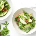 Arugula Salad with Apple and Pecan