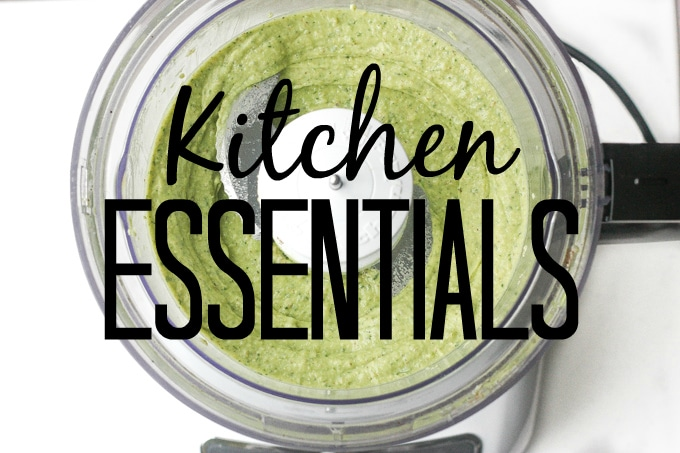Kitchen Essentials: Whether you are a food blogger or an everyday home chef, discover my recommended tools that are essential in making things easier in the kitchen | aheadofthyme.com