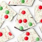 Chocolate and Peppermint Christmas Bark