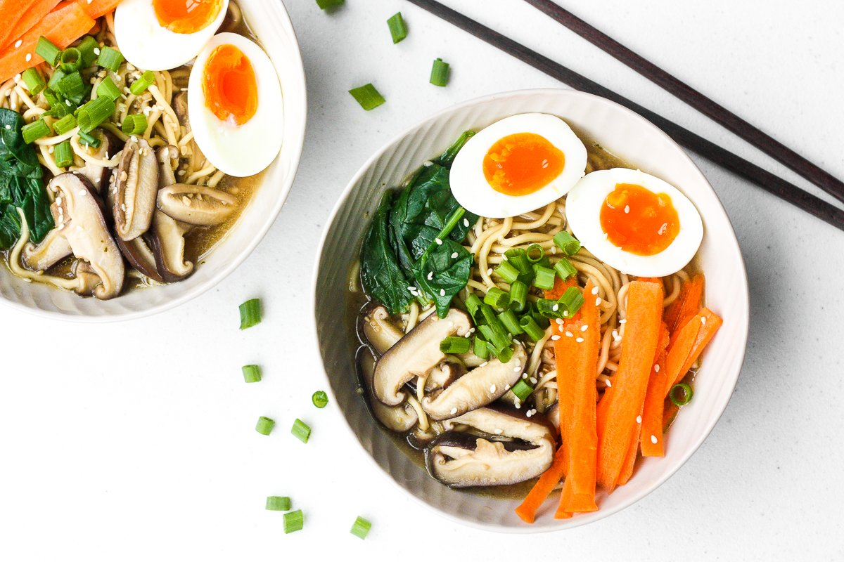 Quick And Easy Vegetarian Ramen Ahead Of Thyme