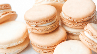 Classic French Macaron With Vanilla Buttercream Filling Ahead Of Thyme