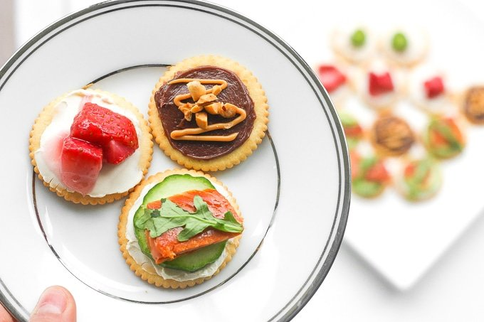 Four Quick and Easy RITZ Cracker Recipes: Take the stress out of party planning and serve something sweet or savory with these four quick and easy RITZ Cracker recipes. | aheadofthyme.com