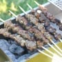 Craving authentic Chinese street food? You can now make juicy, grilled spicy cumin lamb skewers at home in your own backyard! | aheadofthyme.com