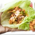 Szechuan Chicken Lettuce Wraps with Spicy Mayo (Cactus Club Copycat)