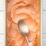 3-Ingredient Peach Sorbet