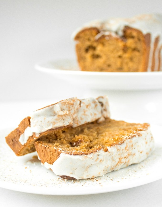 "Move over pumpkin, there is a new loaf in town! Butternut squash ""pumpkin"" bread is moist and flavourful, and brings the pumpkin spice season to your home. 