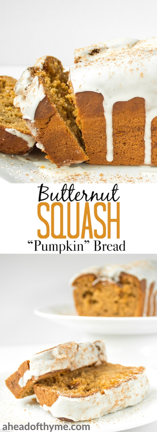 Move over pumpkin, there is a new loaf in town! Butternut squash