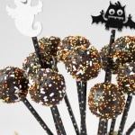 Spooky Chocolate Cake Pops