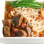 Slow Cooker Beef Stew Ramen