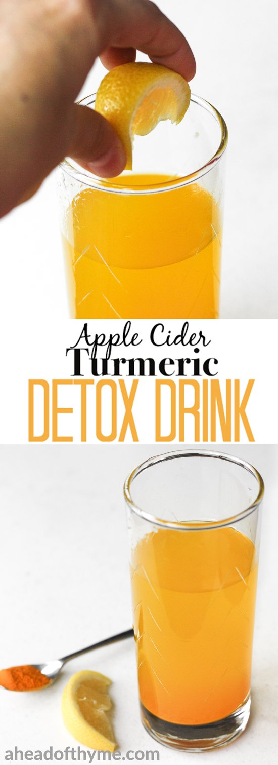Apple Cider Vinegar With Cayenne Pepper Drink