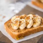 Banana Toast with Granola and Honey