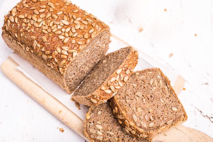 Homemade Sunflower Seed Bread