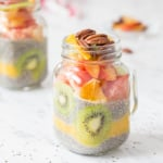 Fruit Layered Chia Seed Pudding