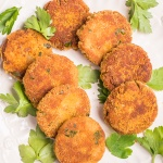 Smoked Mackerel Fish Cakes