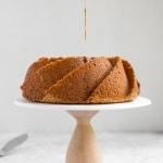 Glazed Brown Sugar Bundt Cake