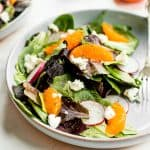 Goat Cheese and Tangelo Winter Salad