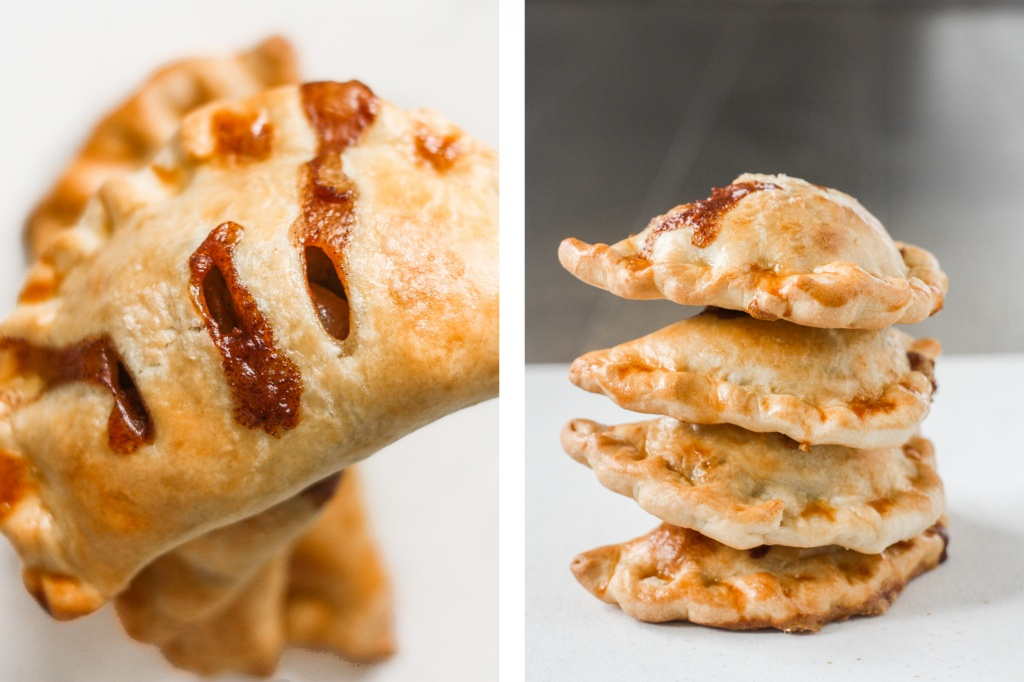 Easy homemade apple hand pies are the perfect fall treat -- stuffed with tender, sweet and cinnamon apples and wrapped in crispy, flakey, buttery crust.