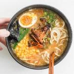 Healthy Miso Ramen with Chicken