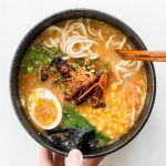 Healthy Miso Ramen with Chicken