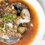 Air Fryer Black Cod with Black Bean Sauce