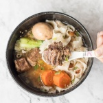 Slow Cooker Asian Beef Noodle Soup