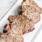 Easy Air Fryer Lamb Chops with Dijon Garlic Marinade