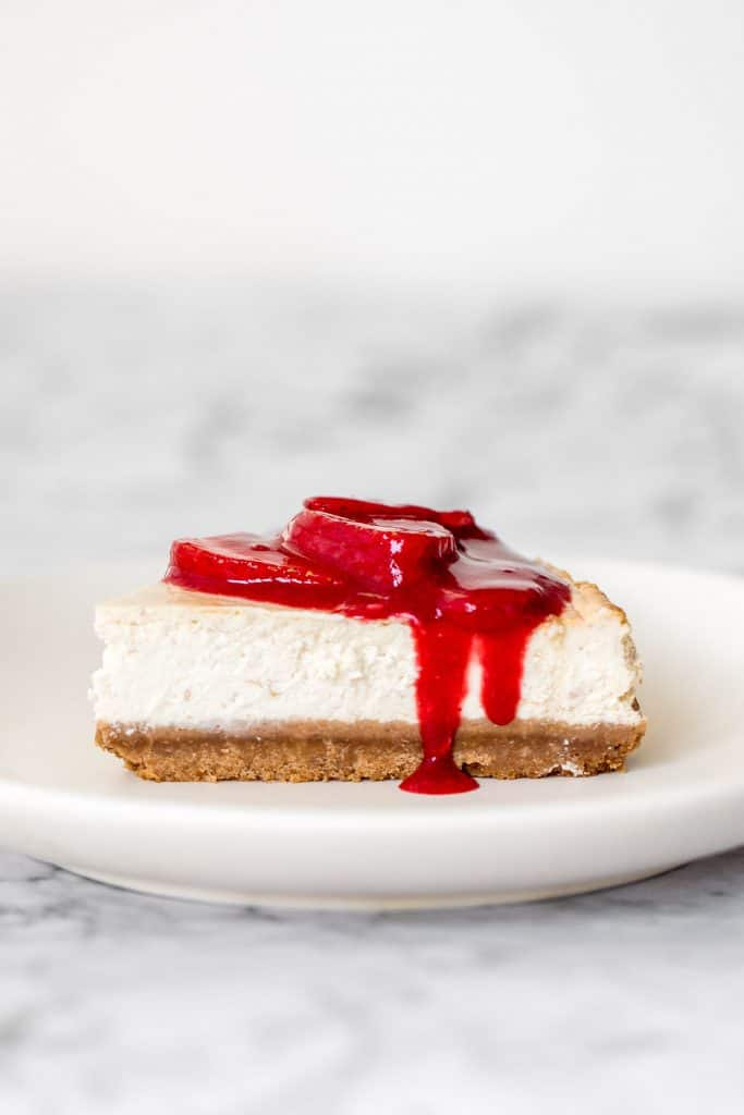 Any level baker can make a beautiful, decadent, thick and fluffy, classic New York cheesecake without any cracks using this easy to follow recipe.