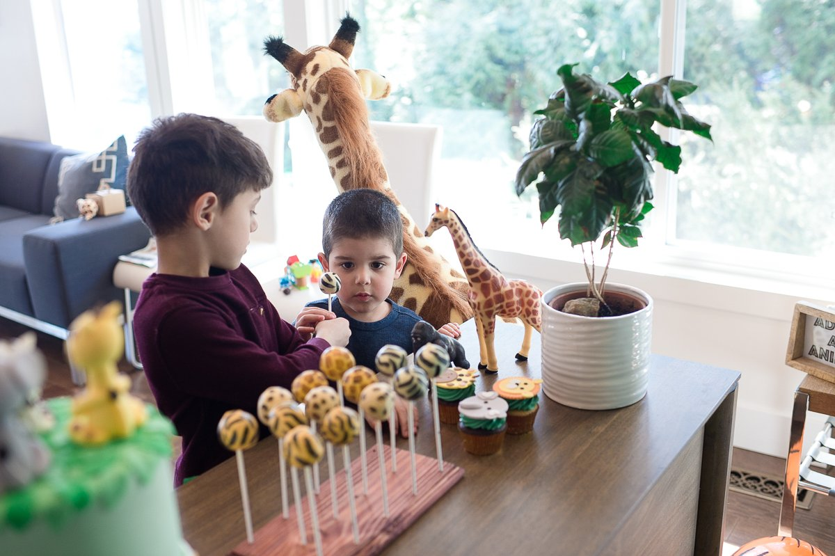 Throw the best wild one safari birthday party with ideas on every detail for an epic jungle party from decor and party favors, to desserts and recipes. | aheadofthyme.com