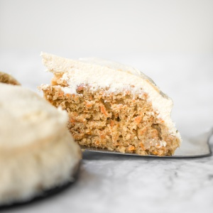 Carrot Cake with Cheesecake Topping | aheadofthyme.com