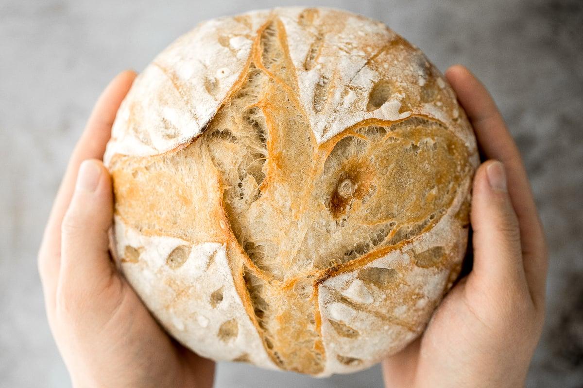 Small Batch Sourdough Bread Ahead Of Thyme