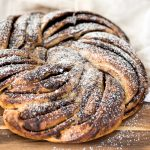 Sourdough Cinnamon Roll Twist Bread