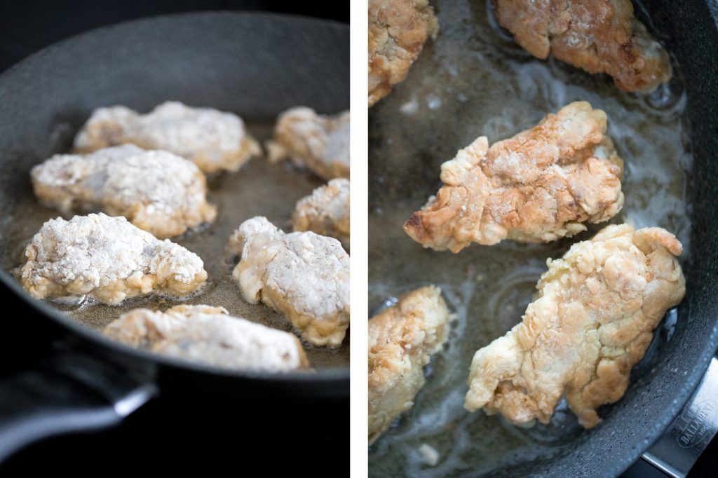 The BEST breaded fried chicken wings -- extra crispy and crunchy outside, tender and juicy inside. You can't even tell they're air fried, not deep-fried! | aheadofthyme.com