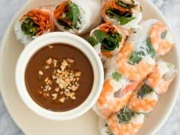 Vietnamese Shrimp Salad Roll Recipe