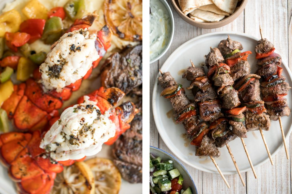 Treat dad to an epic Father's Day meal with big bold flavours. Browse our favourite grilled, meaty, seafood, and dessert Father's Day recipes -- way better than a tie. | aheadofthyme.com
