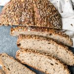 Seeded Whole Wheat Sourdough Bread (Small Batch)